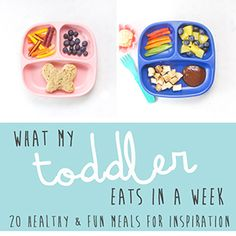 What My Toddler Eats in a Week