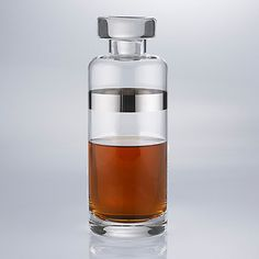 Madison Avenue Slim Whiskey Decanter at Wine Enthusiast - $19.99