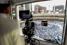 Get an insider's glimpse of the dramatic circling of the Kaaba at Mecca's Grand Mosque in this National Geographic Your Shot Photo of the Day.