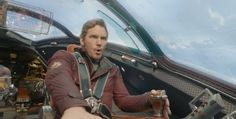 Star-Lord, Peter Quill (Chris Pratt) in Guardians of the Galaxy (2014)