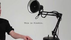 Pinokio | Lamp by Shanshan. Created by Shanshan Zhou, Adam Ben-Dror, Joss Doggett. PIXAR LAMP  IS REAL!!