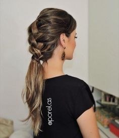 trança+fácil+sem+trançar+penteado+para+casamento+Penteado+para+O+Ano+Novo (2)