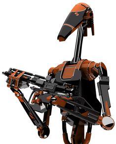 The Separatist war machine Star Wars Droids, Star Wars Rpg, Star Trek, Galactic Republic, Battle Droid, Star System, Plants Vs Zombies, Art Station, Star Wars Characters