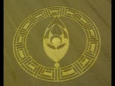 ufo forming crop circle best video - YouTube
