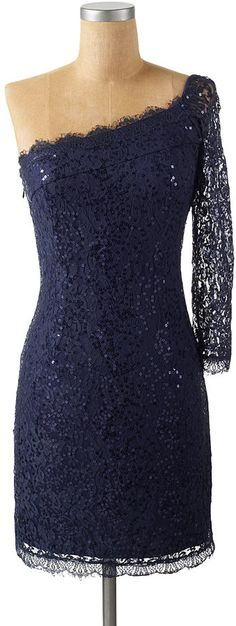 I love Navy Blue and this is just too chic!