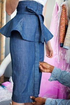 Ideas For Fashion Inspiration Couture Skirts Nyc Fashion, Denim Fashion, Fashion Outfits, Womens Fashion, Fashion Trends, Dress Fashion, Fashion News, High Fashion, Fashion Online