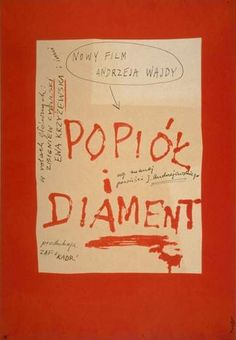 Popiół i diament (1958)
