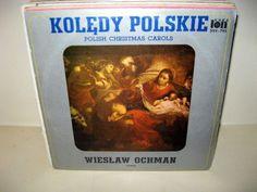 Wieslaw Ochman - Koledy Polskie Polish Christmas Carols POLAND 1980 Lp mint