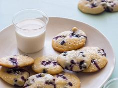 50 unique Cookie recipes like: Blueberry Yogurt Cookies by Spoon Fork Bacon