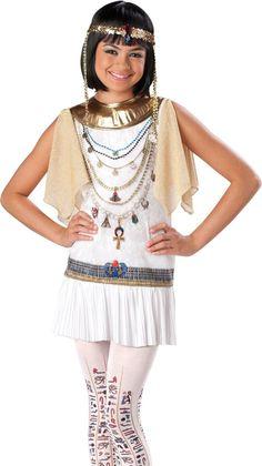 Teen Tween Girls Cleopatra Egyptian Halloween Costume  sc 1 st  Pinterest & Be the prettiest sea captain in this gorgeous high seas tween girl ...