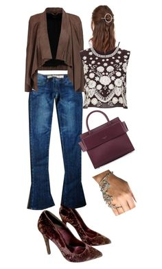 """""""Lovely Set from Fade shades ;)"""" by oanaf ❤ liked on Polyvore featuring Kurt Geiger, Arrogant Cat, Urban Outfitters, MuuBaa, Givenchy and Needle & Thread"""