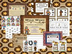 Classroom Freebies Too: Wild West Literacy Activities!