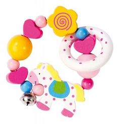 This high quality touch ring will delight babies for hours. It is perfect for shaking, touching, chewing and enjoying plus is extremely eye catching. Matching items from the Spotty Horsey range are also available. Mother And Baby, Wooden Toys, Baby Items, Touch, Kids, Baby Things, 3 Months, Toddlers, Maternity