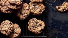 Salty Chocolate Chunk Cookies Recipe - Finishing your chocolate chunk cookies cookies with a flaky salt like Maldon brings out the chocolate flavor and tempers the sweetness, creating the ultimate sweet and salty snack. https://www.bonappetit.com/recipe/salty-chocolate-chunk-cookies