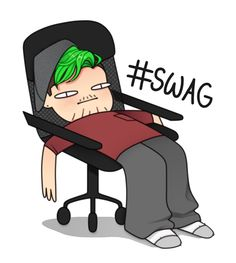 jacksepticeye • ratedemart:     the king of swag…. has...
