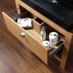 Knox Bathroom Vanity Zebra Wood Vanities Bath Kitchen And Beyond