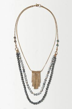Nightfall Layer Necklace #anthropologie
