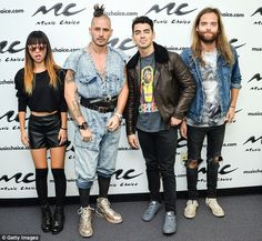 Musician: Joe is currently in the band DNCE with (L-R) JinJoo Lee, Cole Whittle, and Jack Lawless