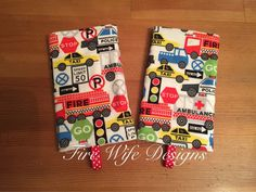 Transportation Drool/Suck Pads for Soft by FireWifeDesigns on Etsy