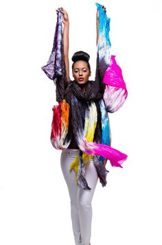 Shimmer & Bliss Hand Dyed Silk Scarves - Kiss Me Collection
