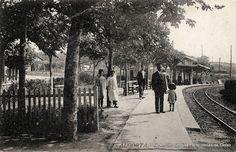 Neguriko antzinako tren geltokia / Antigua estación del ferrocarril de Neguri, 1900-1920 (ref. SN00989)
