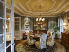 Traditional House Plan Dining Room Photo 01 Plan 071S-0001 | House Plans and More