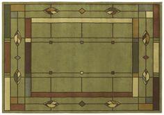 AreaRug Mission Leaf - 3V478 - Sage - Flooring by Shaw