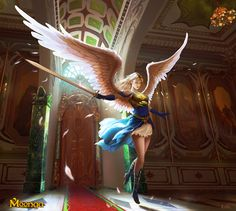 Fantasy Art Angels Warrior Sword | Warrior Angel - Moonga by Edli on deviantART