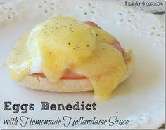 Eggs Benedict with Homemade Hollandaise Sauce