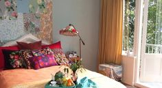 Colourful Bed And Breakfast is located in Amsterdam at only 400 metres from Vondelpark and 600 metres from the lively Leidse Square. #Amsterdam #travel #bedandbreakfast