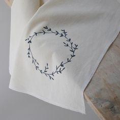 Garland Tea towel via Hello Paper