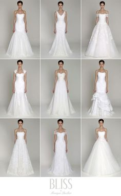Bliss by Monique Lhullier 2013 Collection #wedding #bridalgown #weddingdress #moniquelhuillier #bliss