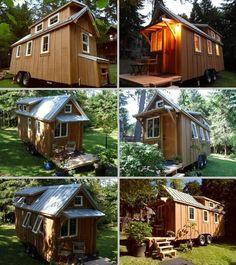 House on Wheels: Beautiful Tiny House with Ynez Design