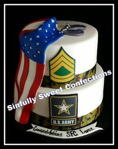 Welcome Home Cake Military 37 Ideas Military Retirement Parties, Retirement Celebration, Retirement Party Decorations, Retirement Cakes, Retirement Ideas, Army Cake, Military Cake, Military Party, Army Party