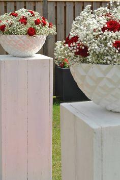 ceremonie rood-wit