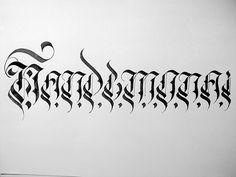 Nandemonai #blackflame #tusk #calligraphy #thailand