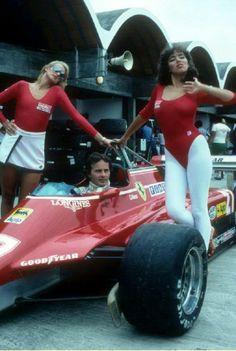 GILLES VILLENEUVE #F1 #FERRARI