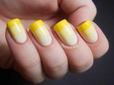 Nails #yellow