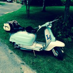 My Lambretta Li150 S3 1963... All ready for a ride out..