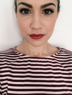 Today's warm-toned makeup to match my top. CC very welcome.