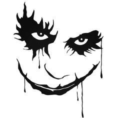 Batman Dark Knight Joker Decal Sticker  BallzBeatz . com