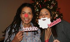 So much fun!  Say cheese!  Smile! Christmas Party by BeBopProps
