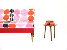 Mid Century 1950's Day Bed Sofa. Vintage Retro Design..