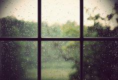 Love rainy days.