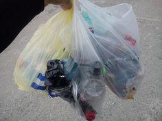 Wejście na Kasprowy - góra śmieci