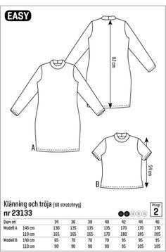 Klänning/top