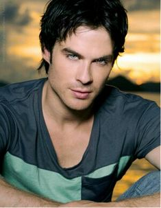Ian Somerhalder with his tantalizing eyes