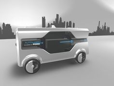 Ford shows off concept self-driving van packed with delivery drones at MWC