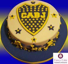 Torta Boca Juniors #futbolbocajuniors