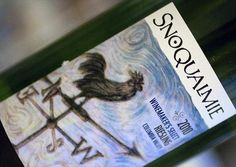My all time favorite wine, Riesling from Snoqualmie Vineyards